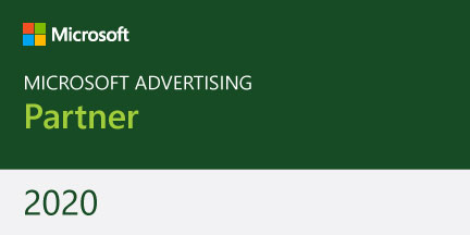 green certified microsoft advertising partner badge